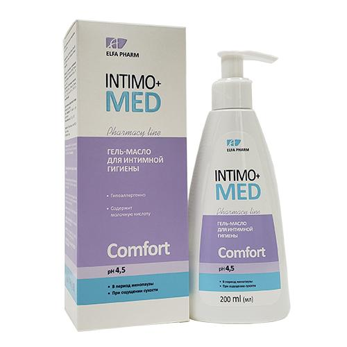 Dung dịch vệ sinh phụ nữ INTIMO+ MED COMFORT 200ml