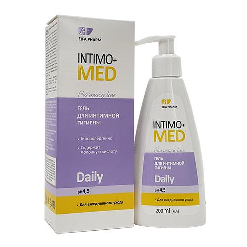 Dung dịch vệ sinh phụ nữ INTIMO+ MED DAILY 200ml