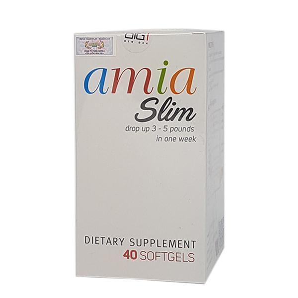 Amia Slim – Viêm uống giảm cân cho người cơ địa khó giảm.