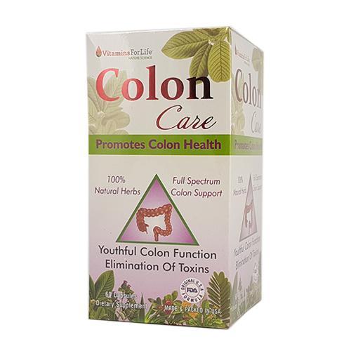 Colon Care - Hỗ trợ đường tiêu hóa khỏe mạnh