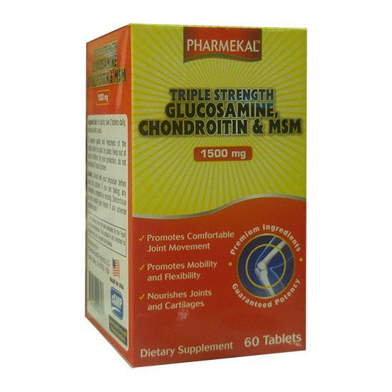 Triple Streng Glucosamine Chondroitin & MSM