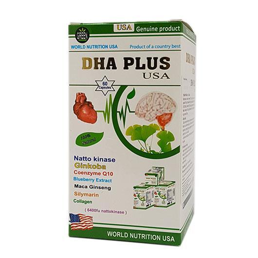 DHA Plus USA tốt não khỏe tim