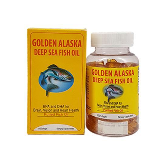 Golden Alaska Deep Sea Fish Oil