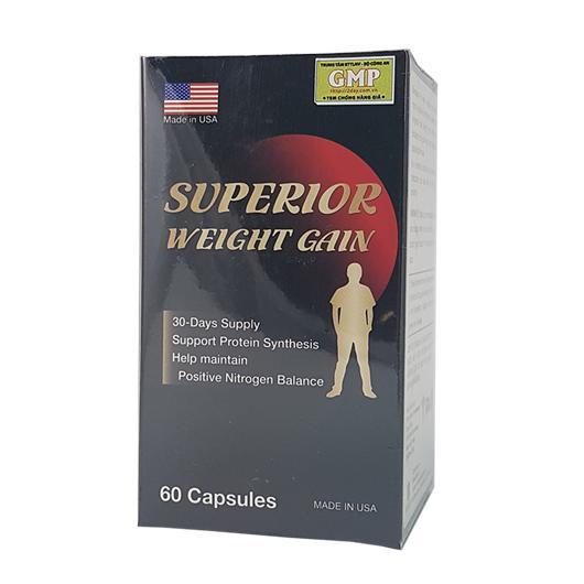 Superior Weight Gain viên uống tăng cân tăng cơ từ Mỹ