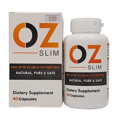 OZ Slim viên uống giảm cân từ Mỹ