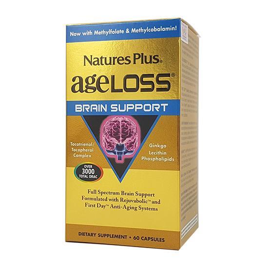 Ageloss Brain Support tăng tuần hoàn máu não