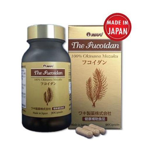 The Fucoidan-100% tinh chất Tảo Nâu Okinawa