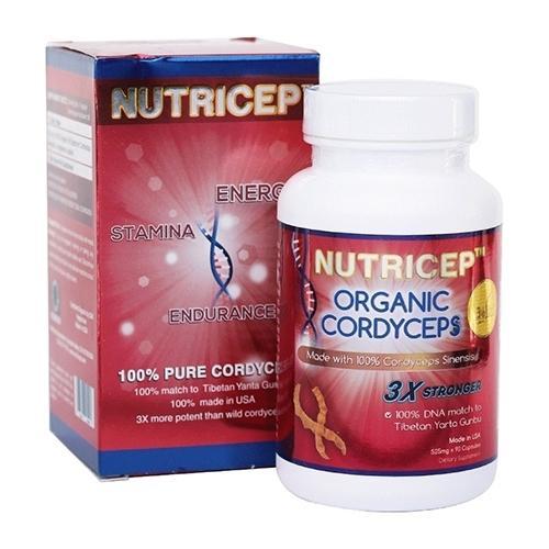 Nutricep Organic Cordyceps - Đông Trùng Hạ Thảo nhập khẩu Mỹ