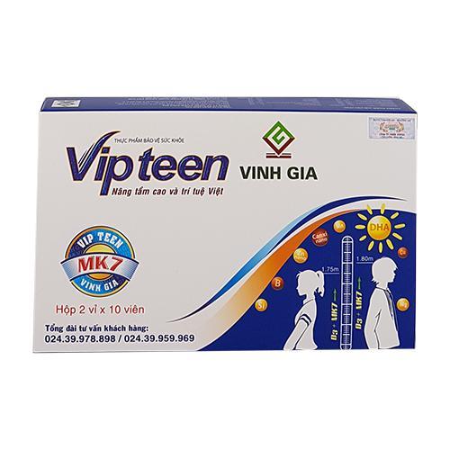 Vipteen - Tăng chiều cao cho trẻ