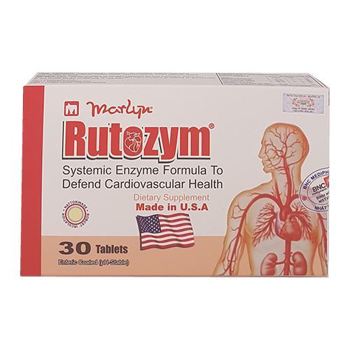 Rutozym - Giảm nguy cơ mắc bệnh tim mạch