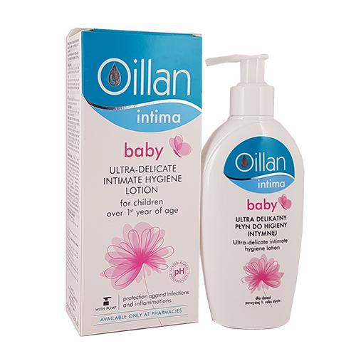 Oillan Baby Intima - Dung dịch vệ sinh cho bé gái trên 1 tuổi