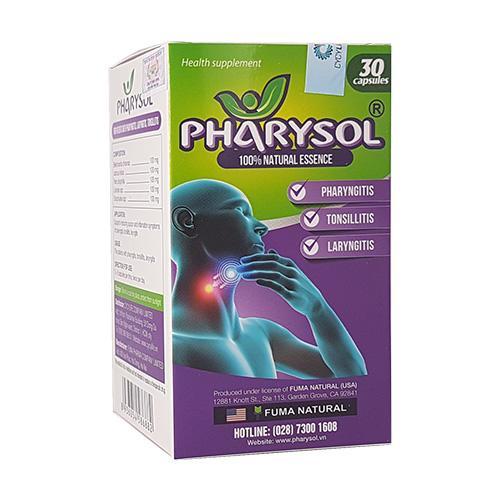 Pharysol - Bảo vệ họng cho cả gia đình