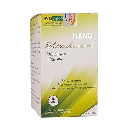 Nano Mầm Đậu Nành – Bổ sung nội tiết tố nữ