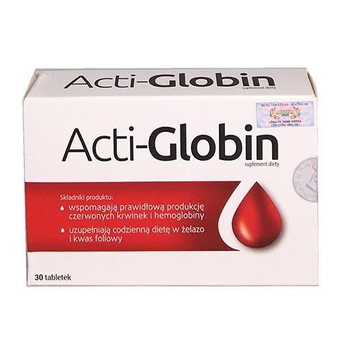 Acti-Globin – Viên uống bổ máu Ba Lan