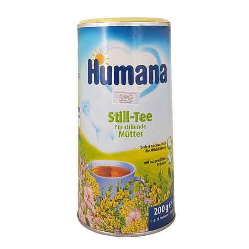 Humana Still Tee - Trà cốm thảo dược tăng tiết sữa mẹ