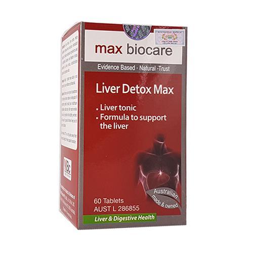 Liver Detox Max - Bổ gan tiêu độc