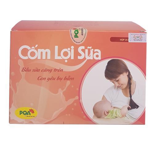Cốm lợi sữa PQA