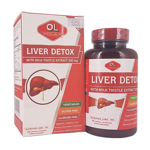 Liver Detox – Viên nang giải độc gan, cho lá gan khoẻ mạnh