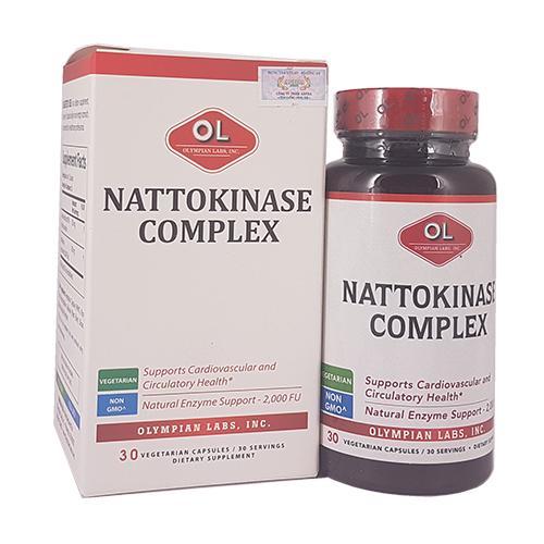 Nattokinase Complex – Hỗ trợ điều trị tai biến mạch máu não