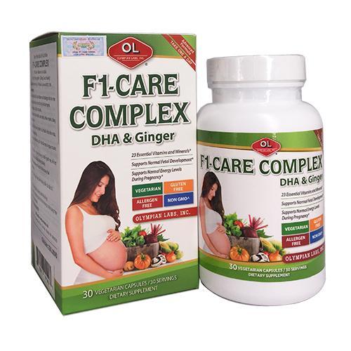 F1 Care Complex – Vitamin tổng hợp số 1 cho bà bầu
