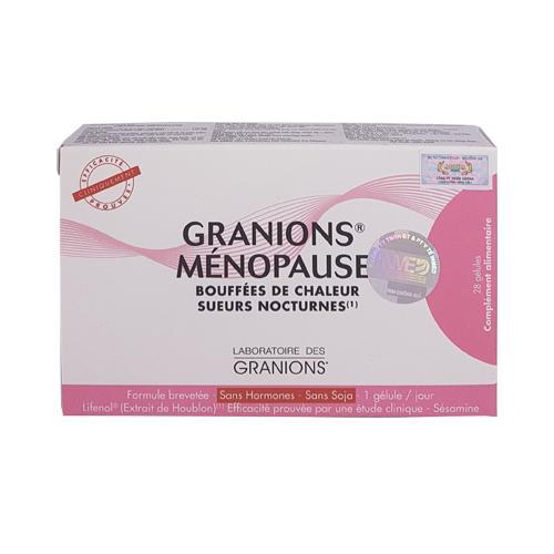 Granions Menopause - Xóa tan nỗi lo tiền mãn kinh