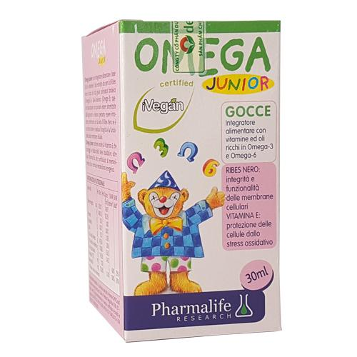 Omega Junior - Hỗ trợ quá trình phát triển não bộ và mắt của trẻ nhỏ
