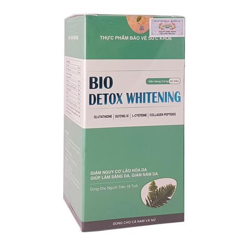 Bio Detox Whitening - Giúp da sáng khỏe từng ngày