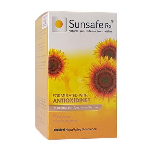 Sunsafe Rx - Viên uống chống nắng từ Mỹ