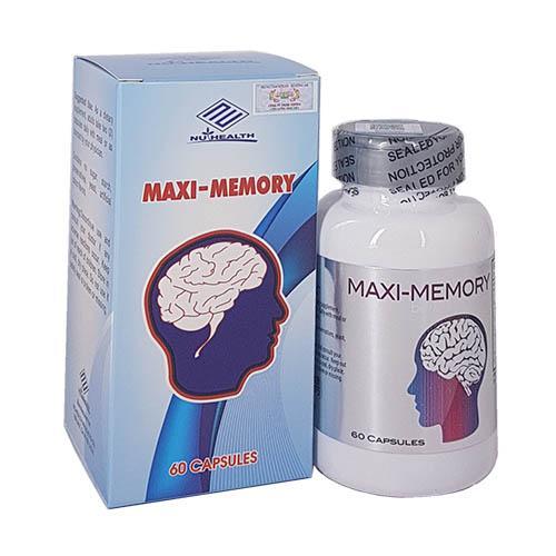 Maxi Memory – Tốt não, giảm rối loạn tiền đình
