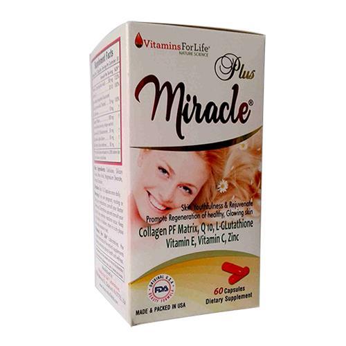 Miracle Plus - Viên uống công thức dưỡng da cao cấp của Mỹ