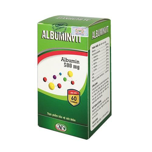 Albuminvit – Dùng cho người suy nhược cơ thể, suy giảm chức năng gan