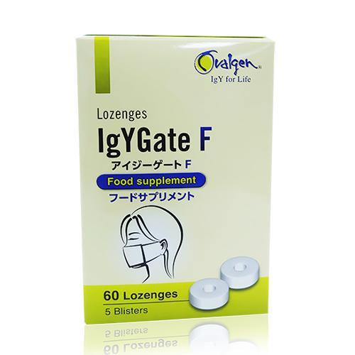 Viên ngậm IgYGate F - Phòng cúm theo cách Nhật Bản
