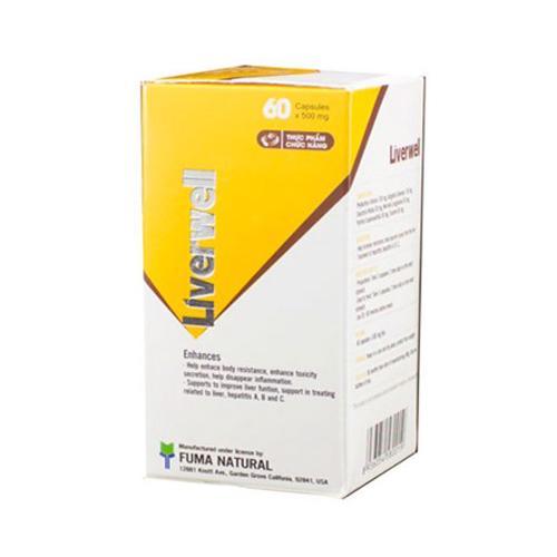Liverwell - Viên uống tăng cường chức năng gan