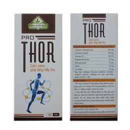 Pro Thor cho xương chắc khỏe