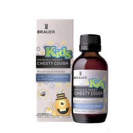 Siro ho có đờm Brauer cho bé - Brauer Kids Manuka Honey Chesty Cough