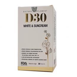 D30 White & Suncream sáng đẹp da và chống nắng