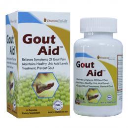 Viên Gout Aid xoá tan nỗi lo bệnh Gout