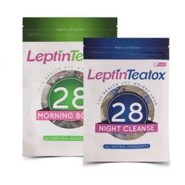 Combo Trà giảm cân Leptin Teatox 28 Day
