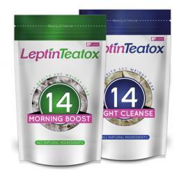 Combo Trà giảm cân Leptin Teatox 14 Day