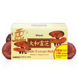 Reishi Extract Ball - Linh chi Nhật Bản 2 trong 1
