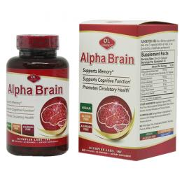 Alpha Brain – Viên uống bổ não, hỗ trợ tuần hoàn não
