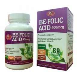 Be – folic acid 400 mcg – Bổ máu, bổ sung B9