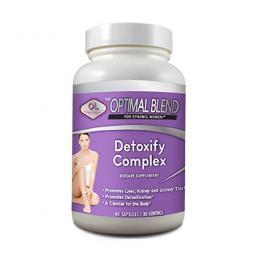 Detoxify Complex bổ gan, thanh lọc cơ thể