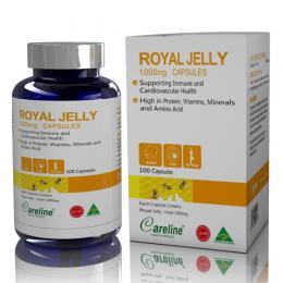 Royal Jelly Careline 100 viên – Sữa ong chúa nhập khẩu Úc
