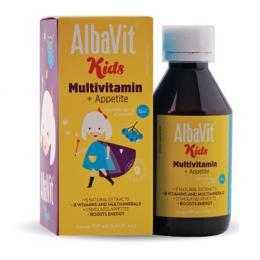 Albavit Kids Multivitamin + Appetite - Siro ăn ngon