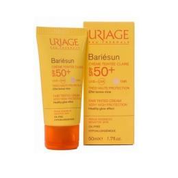 Uriage Bariésun Crème Tintée Claire SPF50+ Kem nền chống nắng cho da nhạy cảm