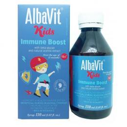 Albavit Kids Immune Boost - Siro tăng cường đề kháng
