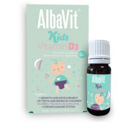 Albavit Kids Vitamin D3 - Siro nhỏ giọt