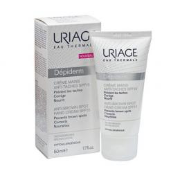 Uriage Depiderm Creme Mains Anti-taches SPF15 - Kem ngăn đốm nâu dành cho tay