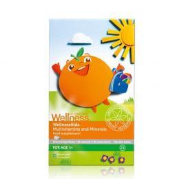 Wellness Kids - Viên nhai vitamin tổng hợp cho trẻ em